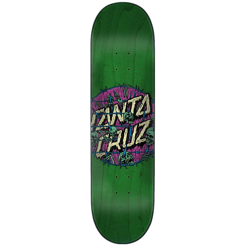 Santa Cruz Skateboard Deck Abyss Dot Green 8.0''
