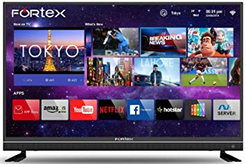 Fortex 109 cm (43 inches) 4K Ultra HD Smart LED TV FX43IPRO01 (Black) (2019 Model)