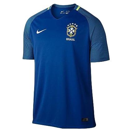 2016 Brazil CBF Stadium Away Men Football Shirt