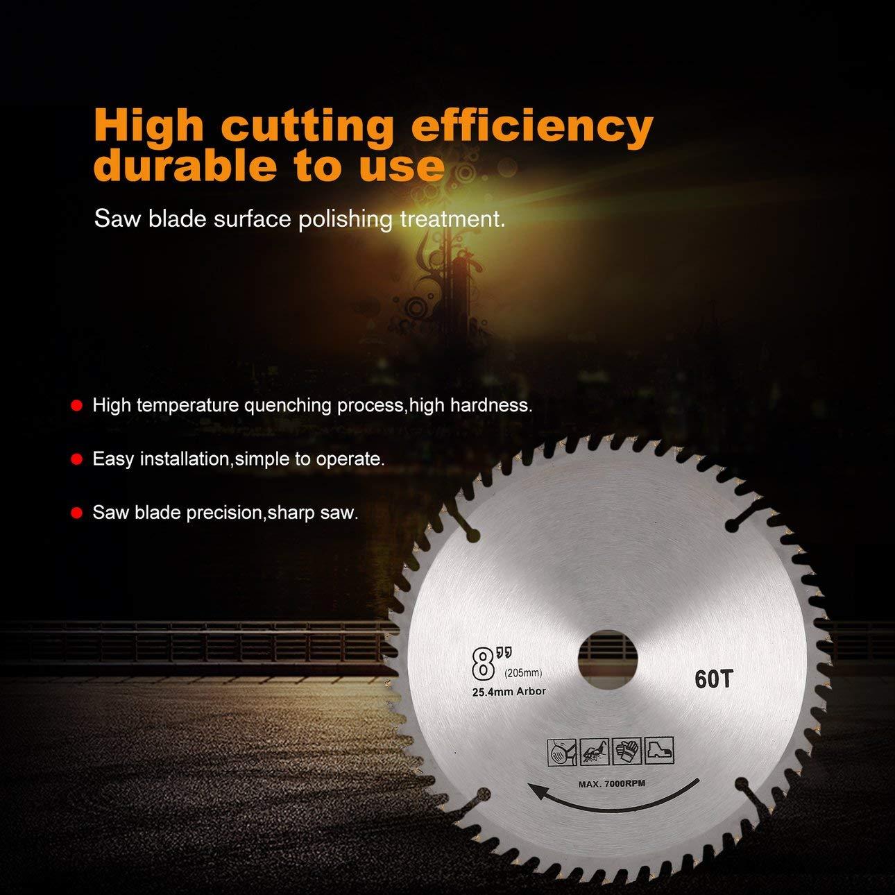 Ballylelly-Pratical 4 Inches High Speed Cutting 40Z/ähne Hohe H/ärte Holzbearbeitung Kreiss/ägebl/ätter Diamanttrennscheiben von