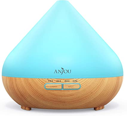 300ml Air Aroma Essential Oil Diffuser LED Ultrasonic Aromatherapy Humidifier UK