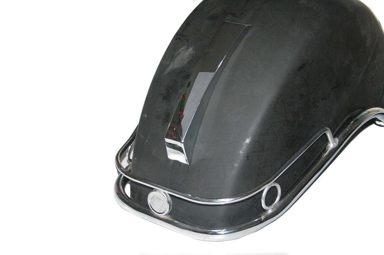 per Vespa PX PE LML NV T5 Enfield County Bare Parafango anteriore in metallo con cresta e paraurti