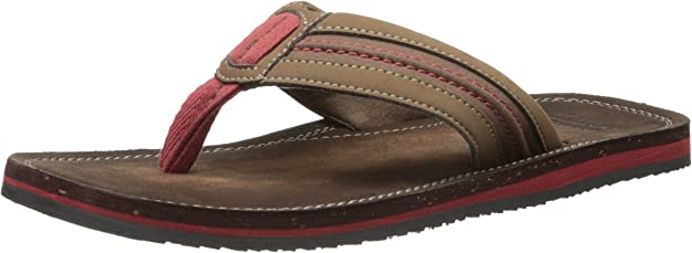 NEW Clarks Lacono Sun Grey Black Mens Flip-Flop Size 11M Sandals Slip on Thongs