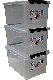 Hervorragend Orthex 34930703 3er Set Clipbox Smart Store Classic 16  BX93
