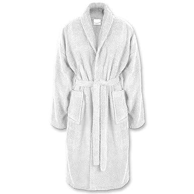 GRÄFENSTAYN Albornoz de baño para hombre y mujer, tallas S-XXXL, de algodón 100 %, diferentes colores, estándar alemán Oeko-Tex 100 gris Small : Amazon.es: ...