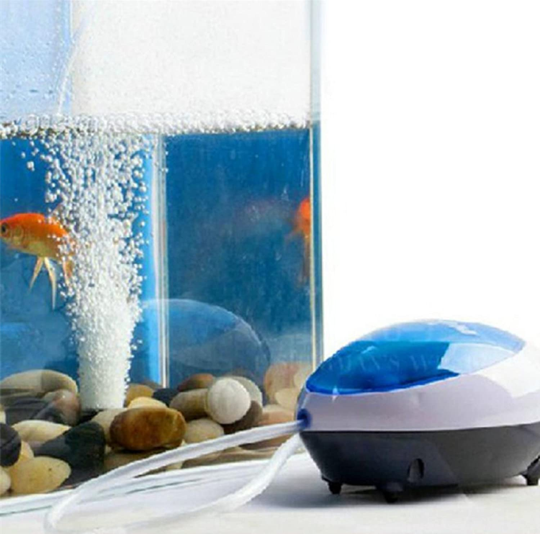 High Energy Efficient Aquarium Oxygen Fish Air Pump Tank Super Silent 3W//5W New