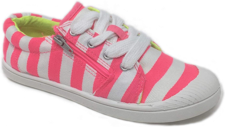 Cat \u0026 Jack Girl's Sneakers Neon Pink
