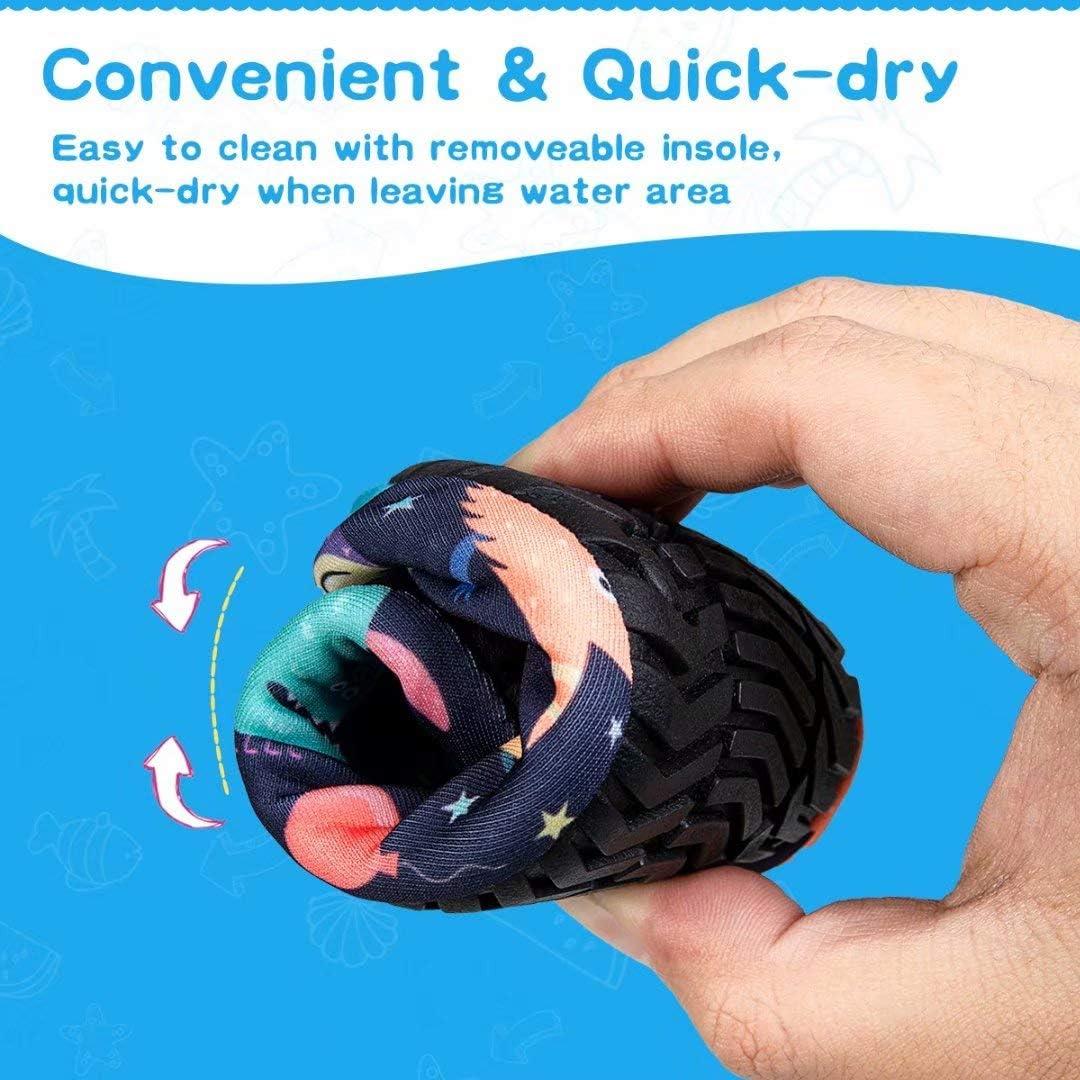 ad asciugatura rapida Ciabatte da nuoto per bambini