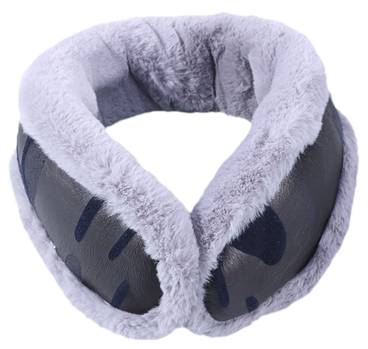 Knolee NEW Unisex Multi-function Earmuffs Earflap Foldable Outdoor Ear Muffs,Camouflage Gray One Size
