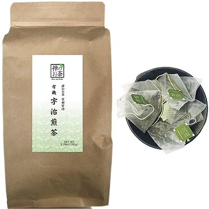 Zen no Ocha - Bolsas de té japonesas Sencha verde 100 ...