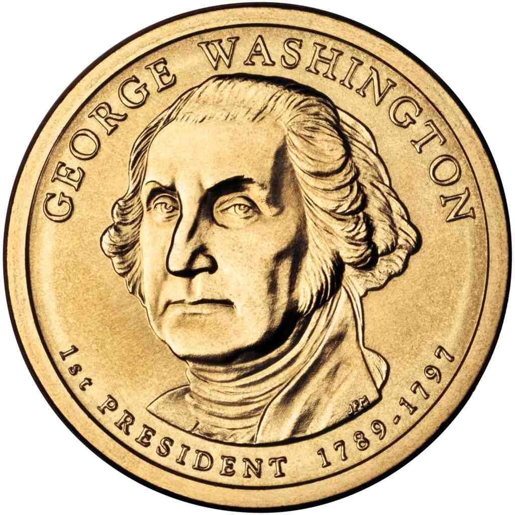 2007 D George Washington Presidential Dollar Collectible Coin