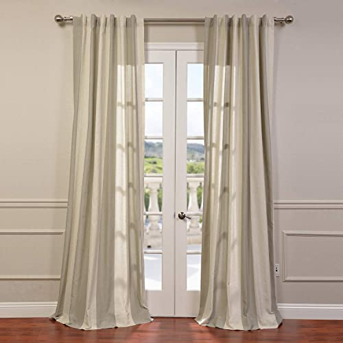 HPD Half Price Drapes FHLCH-YL7176217-108 Linen Blend Stripe Curtain 1 Panel Review