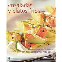 Ensaladas y platos fríos (Spanish Edition)