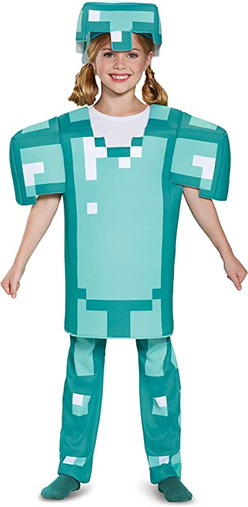 Minecraft-Diamond Armure Enfant Deluxe Costume