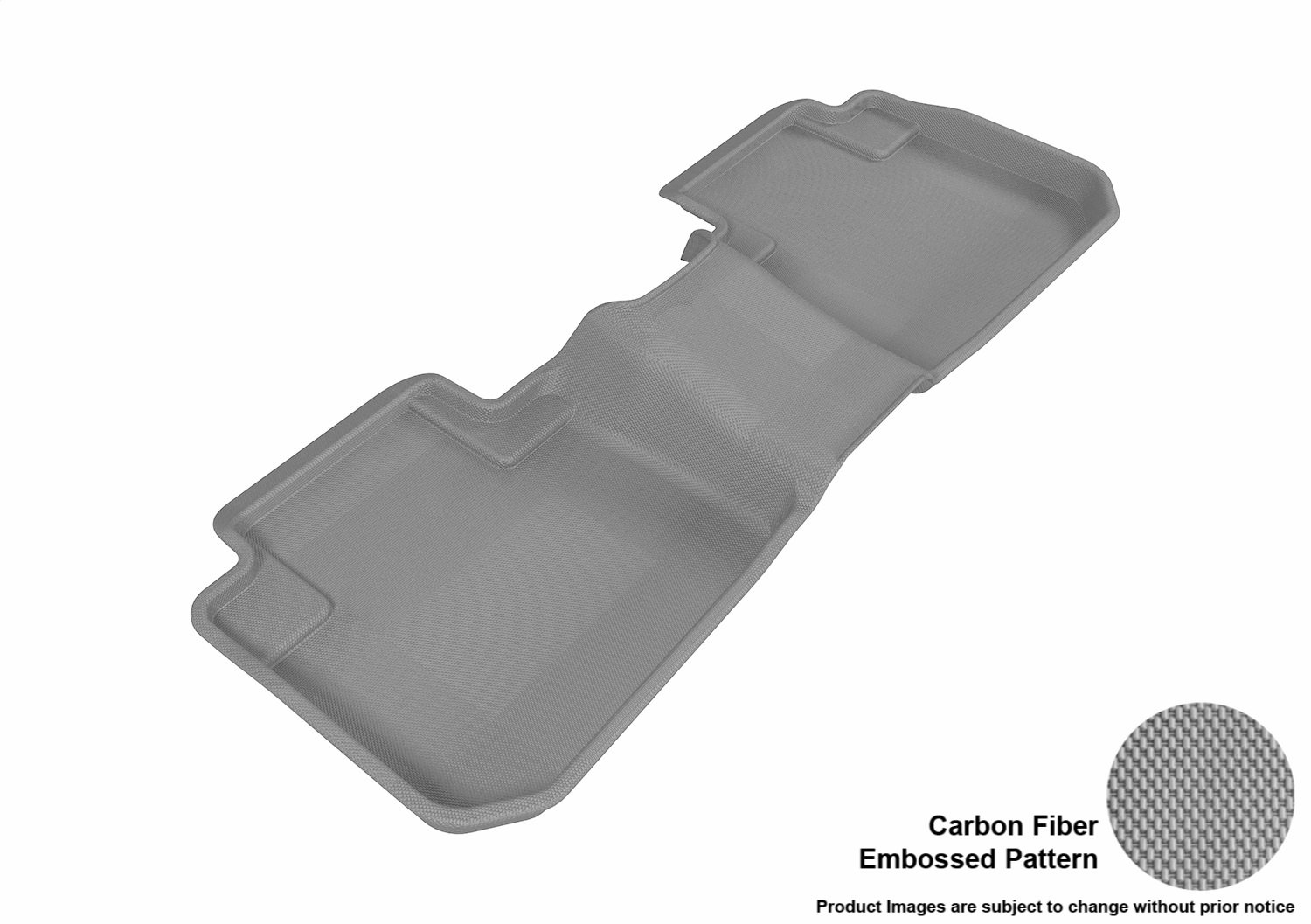 L1SB00921502 Kagu Rubber Tan 3D MAXpider Second Row Custom Fit All-Weather Floor Mat for Select Subaru Forester Models