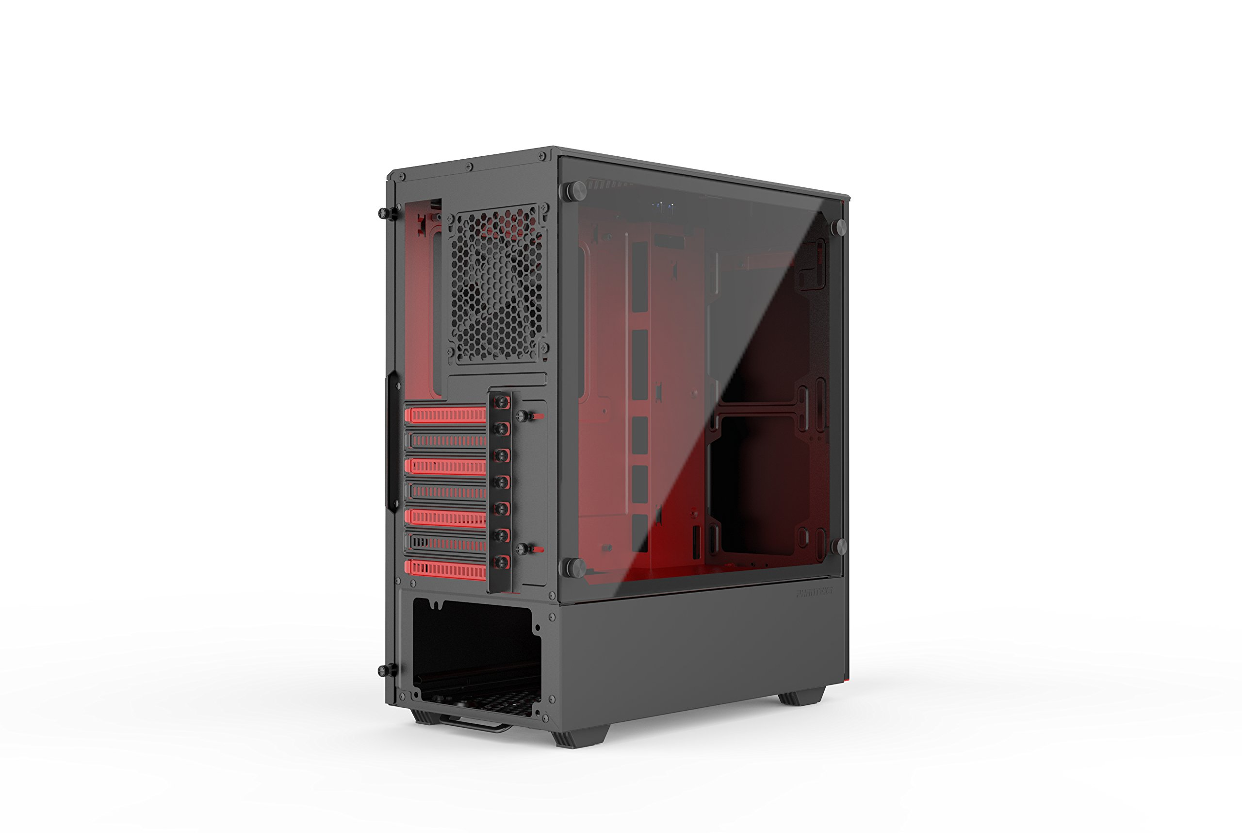 Phanteks PH-EC300PTG_BR Eclipse P300 Tempered Glass Steel ATX Mid Tower Case Black/Red by Phanteks (Image #6)