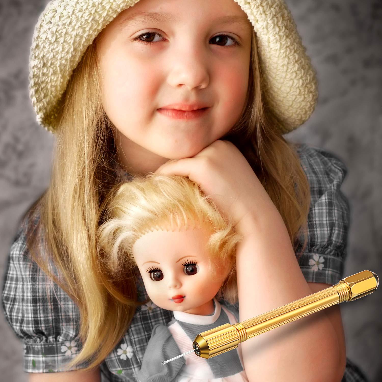 Doll Hair Rooting Holders Reroot Rehair Tools for Girls Doll Hair Making Tools Doll Hair Wig Tool Accessories Doll Breed Hair DIY Supplies 6