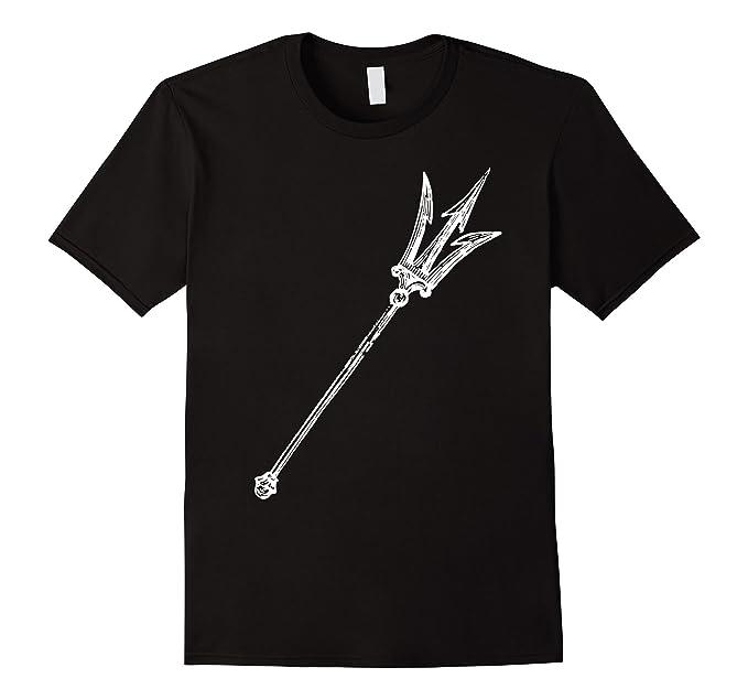 Amazon Poseidon Symbol T Shirt Trident Greek God Mythology