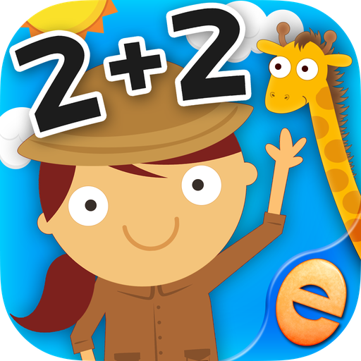 Math Games 4 Kids - Animal Math Games for Free First