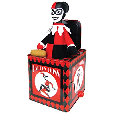 Bif Bang Pow! DC Comics Harley Quinn Jack in The Box: Toys & Games [5Bkhe1003646]