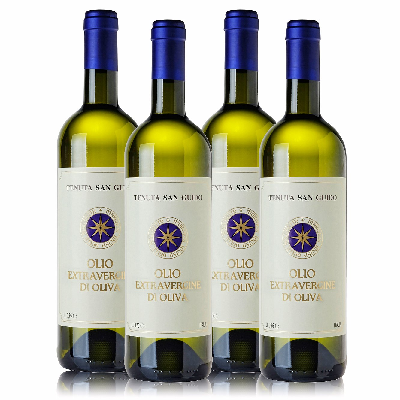 Sassicaia Extra Virgin Oil (Box 4 Bottles)