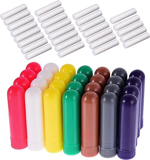 JTShop Tubo de aceites Esenciales para inhalador de Aroma, Tubos ...
