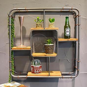Deko Wandregal Eisen Industrielle Stil Wandbehang Regal Wand