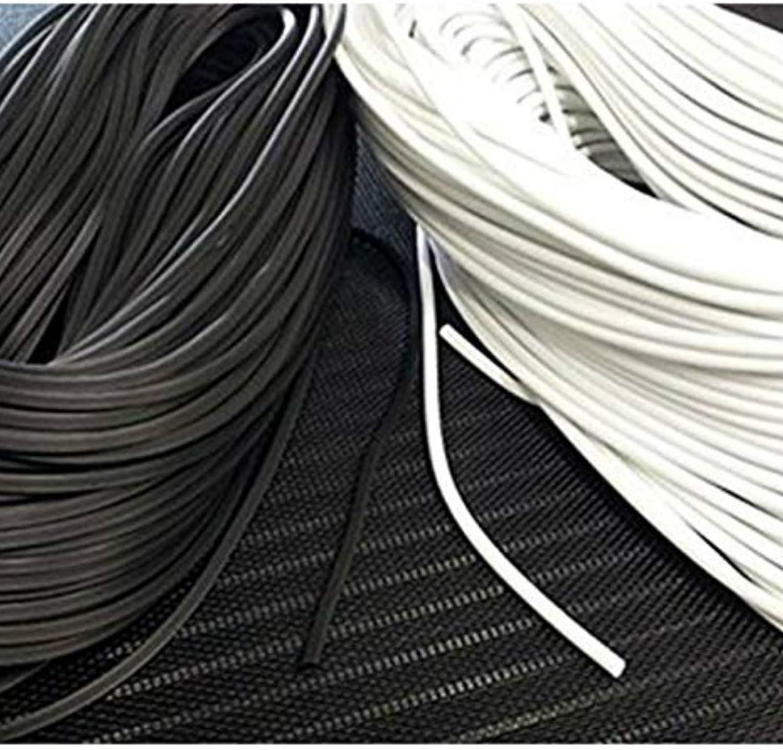 5m, Grau 4,2mm Keder Gummischnur 4,2mm f/ür Fliegengitter aus PVC Grau rund f/ür Spannrahmen als Kederband Kedergummi Schnur Ersatzteil Zubeh/ör