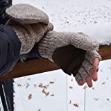 Ricci DeLuca Thermal Insulated Fingerless Gloves