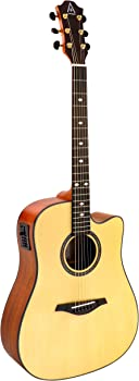 Hohner A+ AS355CE Cutaway Dreadnought Acoustic-Electric Guitar