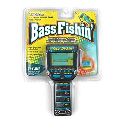 Bass Fishing Handheld: Toys & Games