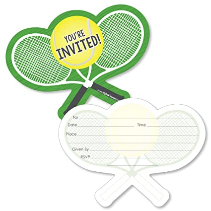 Amazon you got served tennis shaped fill in invitations you got served tennis shaped fill in invitations baby shower or tennis filmwisefo