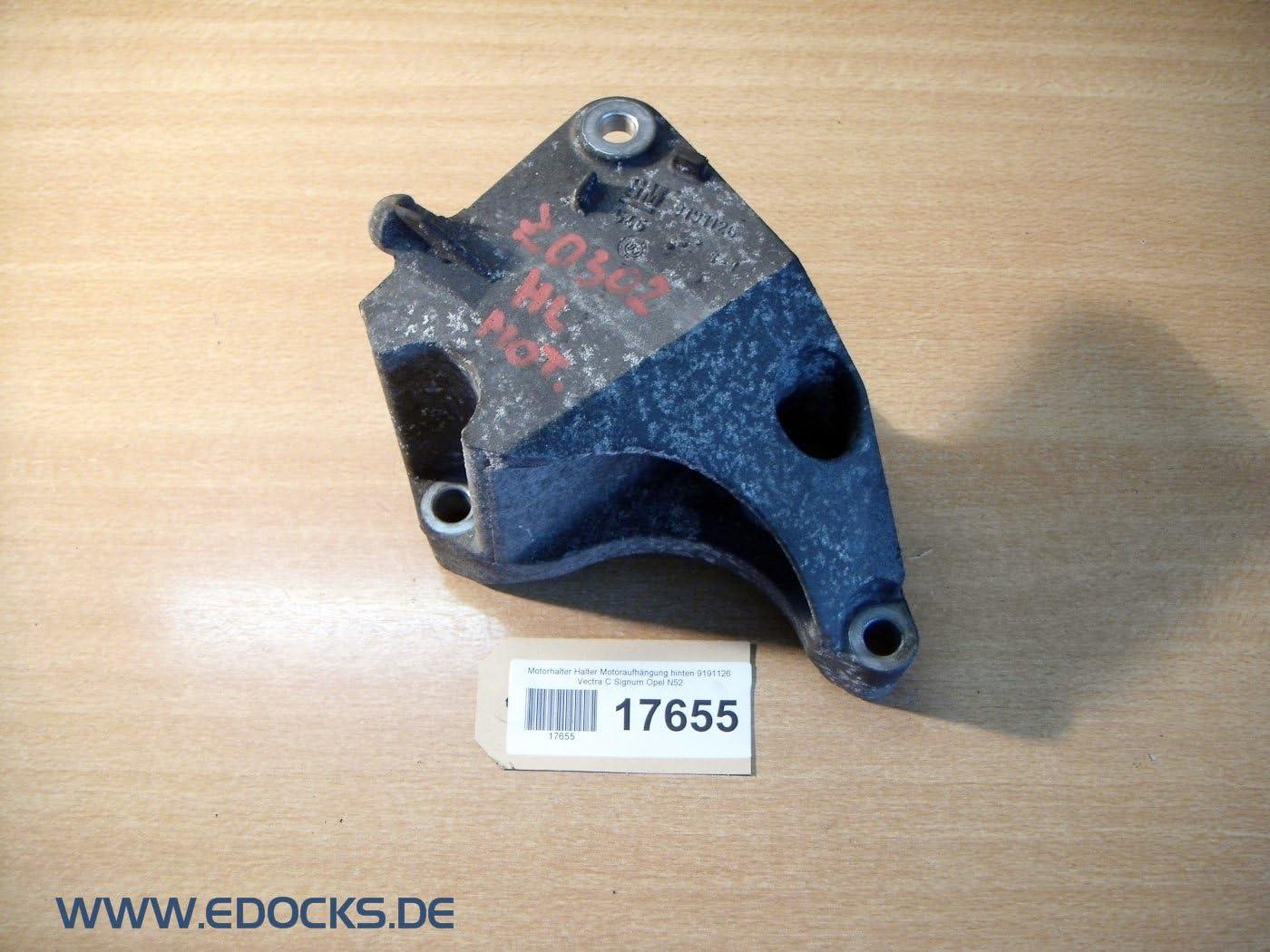 Motorhalter Halter Motoraufh/ängung hinten 9191126 Vectra C Signum Opel