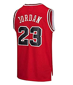 Camiseta de Baloncesto NBA Chicago Bulls para Hombre Michael ...