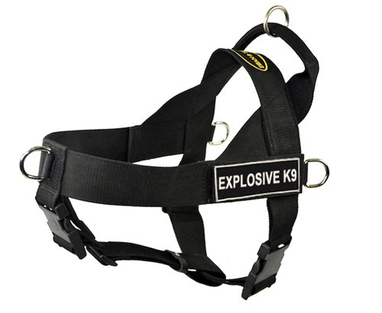 Dean & Tyler - DT Universal explosivo K9 no tirar perro arnés: Amazon.es: Productos para mascotas