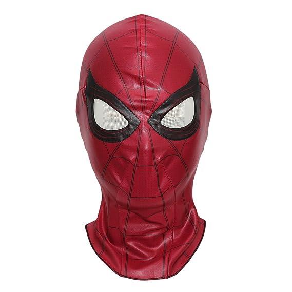 Spiderman Mask Homecoming Costume Cosplay Hood Adult Teens