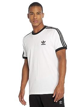 adidas 3-Stripes Camiseta, Hombre, Blanco, XS: Amazon.es: Deportes y aire libre