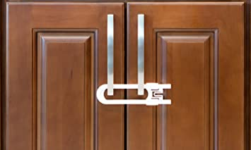 Nice Sliding Cabinet Locks For Child Safety | Baby Proof Your Kitchen, Bathroom,  And Storage