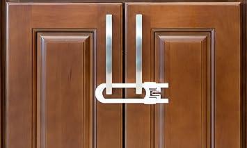 Amazon.com : Sliding Cabinet Locks For Child Safety | Baby Proof ...
