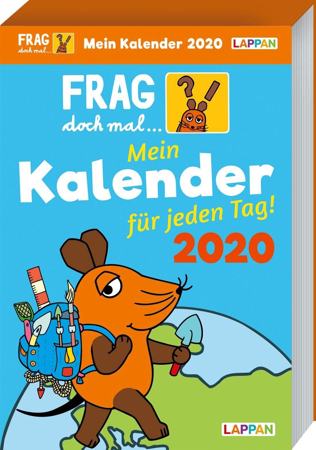 Frag Doch Mal ... Die Maus   Frag Doch Mal ... Die Maus 2020  Mein Kalender Für Jeden Tag
