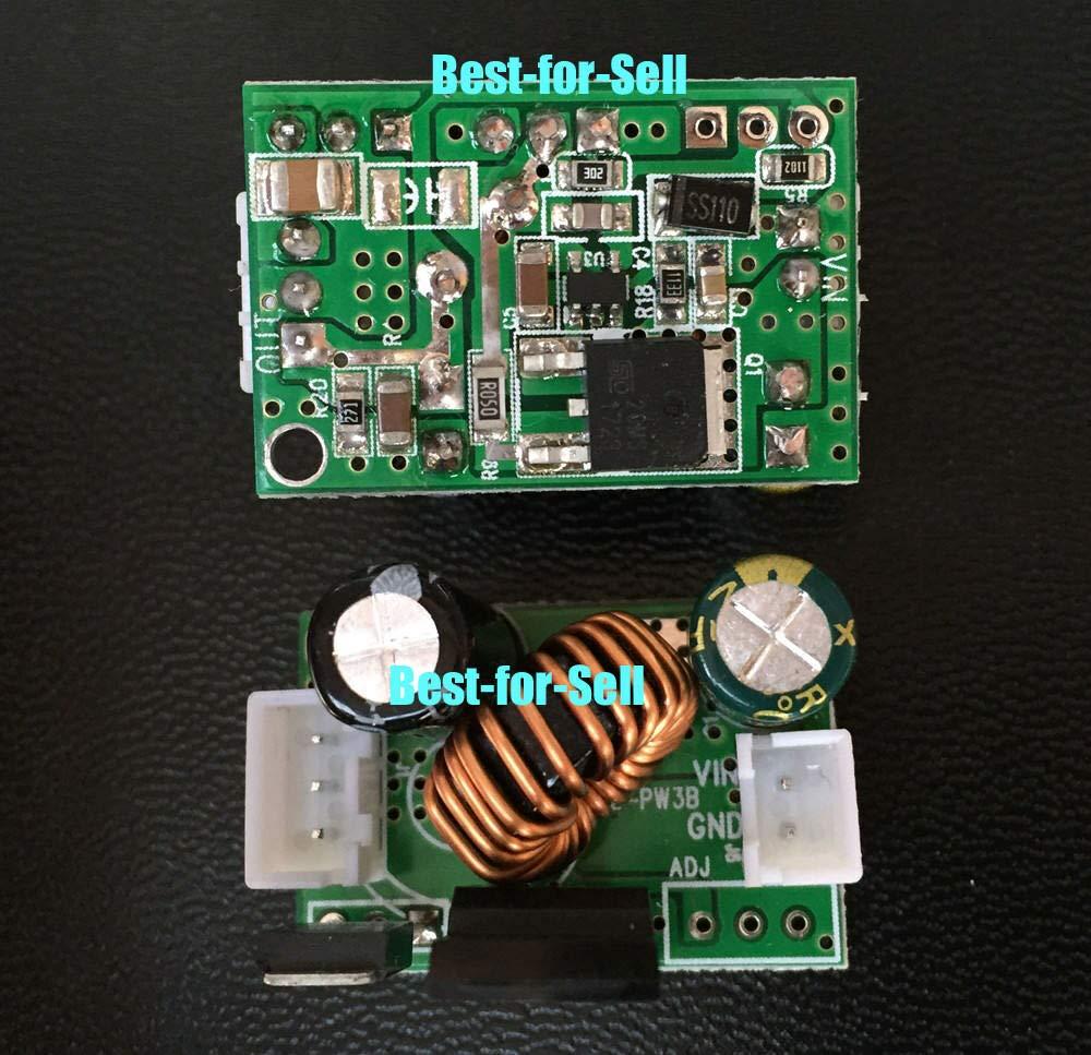 FidgetKute DC-DC Step-Down 120V 96V 84V 72V 48V 36V 24V to 5V 12V 3A Car Power Supply Board