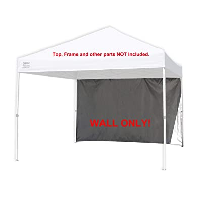Full Side Wall Panel for 10' x 10' Canopy Gazebo Quik Shade, Coleman, Ozark Trail Sunwall Replacement Parts… : Garden & Outdoor