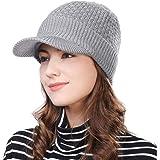 (シッギ)Siggi ミックスウール 帽子 メンズ ニットキャスケット 秋冬 フリーサイズ スキー 防寒 自転車 55-61cm