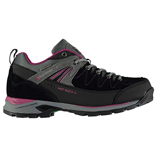 Karrimor Womens Hot Rock Low Walking Shoes Waterproof Lace Up Breathable Padded Amazoncouk Shoes  Bags