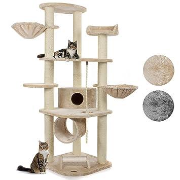 Happypet Kratzbaum Für Katzen Groß 186 Cm Hoch Cat021 Kletterbaum
