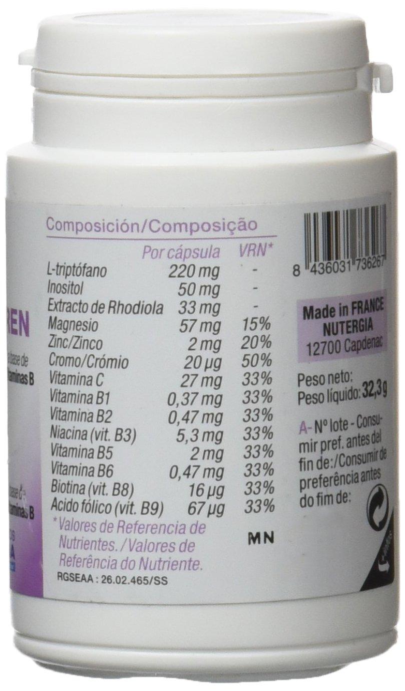 Nutergia Vecti-Seren Complemento Alimenticio - 60 Cápsulas: Amazon.es: Salud y cuidado personal