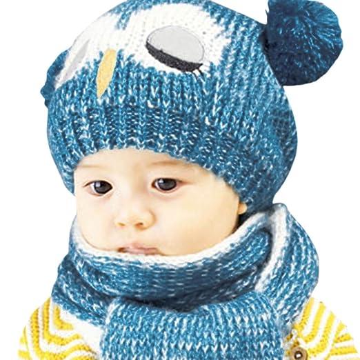 Hats Baby Kids Crochet Hats Beanie Bonnet Boy Girl Gift Owl Knit Child Baby