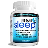 Instant Sleep Complete Natural Sleep Aid Formula Maximum Strength Sleep Support...