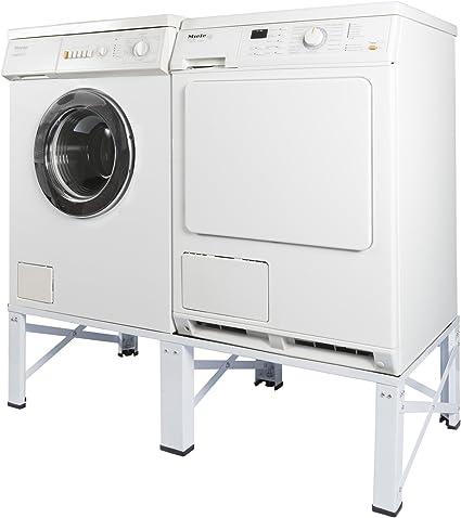Doble estructura para lavadora y secadora Pedestal – Fregadero ...