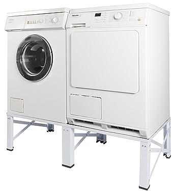 Doppel Untergestell Fr Waschmaschine Und Trockner Sockel Podest Unterbau Erhhung 005160 Amazonde Elektro Grossgerte
